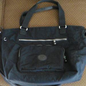 Blue Kipling Diaper Tote Bag